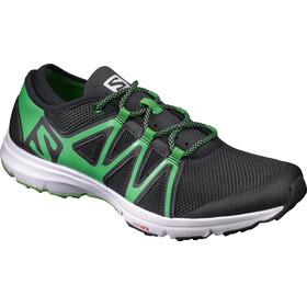 Salomon M's Crossamphibian Shoes black/black/classic green